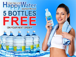 Get Free water on your next order