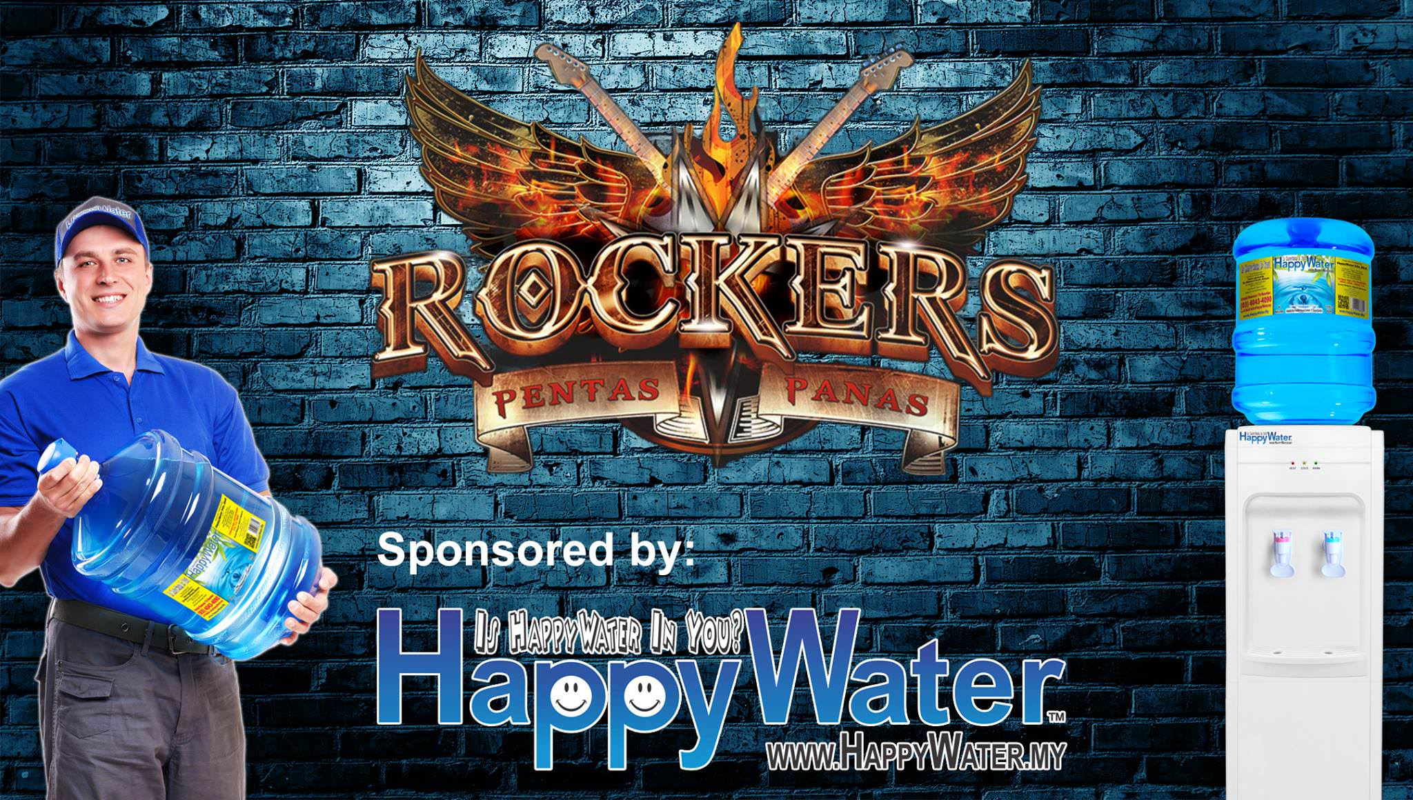 Rockers Pentas Panas reality talent show