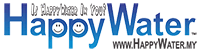 HappyWater the Premium Malaysia Water Delivery and Dispenser Rental Mobile Retina Logo