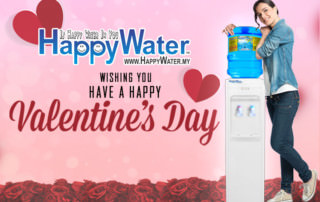 Valentine Day with Happy Water