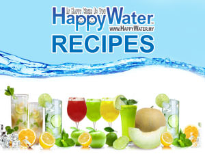 happy water recipes