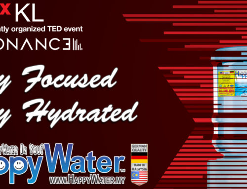 HappyWater sponsors TEDxKL