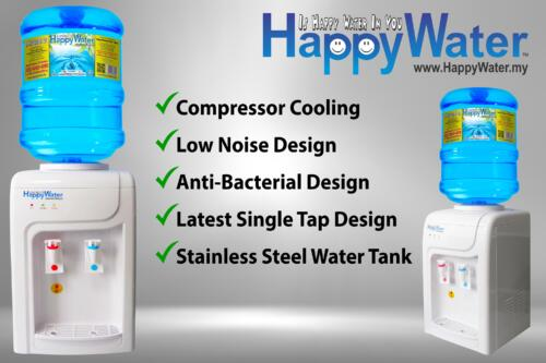 Happy Water Hot and Cold Table Top Distenser