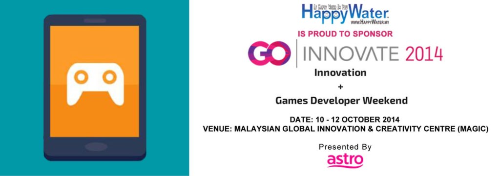 #HappyWater is proud to be one of the supporting partners - #Drinking #Water #Supplier for #GOINNOVATE2014