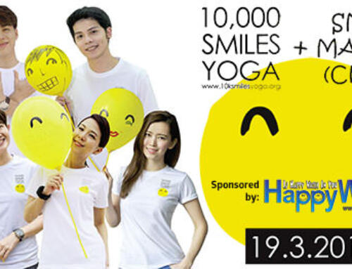 HappyWater is a proud sponsor of Smile Yoga