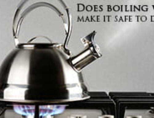 Does boiling water make it safe to drink?