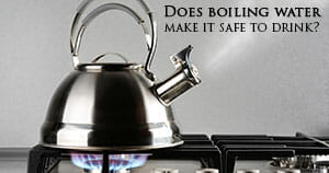 Is boiling water a effective purification method