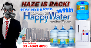 The Haze is back in Kuala Lumpur,. be hydrated
